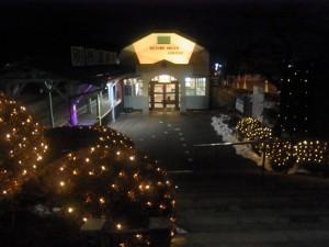 別所温泉駅イルミネーション
